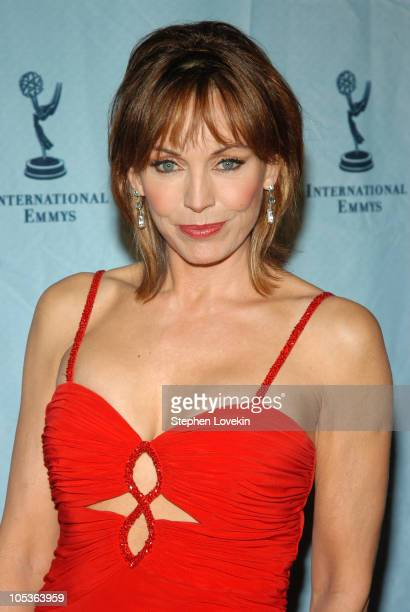 Lesley-Anne Down during 32nd Annual International Emmy Awards- Arrivals at New York Hilton Hotel in New York City, New York, United States.