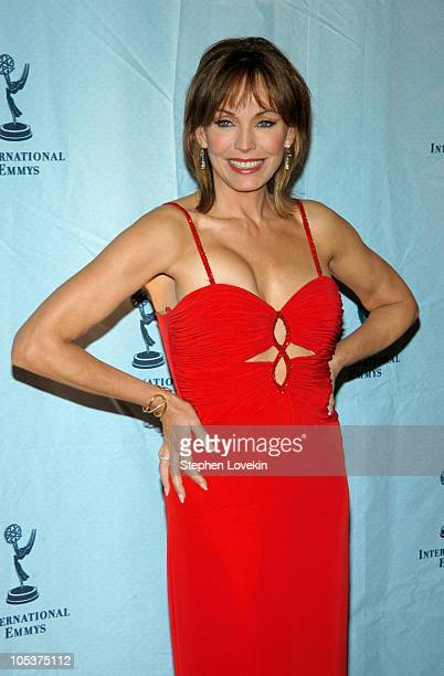 LesleyAnne Down during 32nd Annual International Emmy Awards Arrivals at New York Hilton Hotel in New York City New York United States