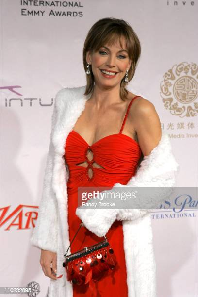 Lesley-Anne Down during 32nd Annual International Emmy Awards - Arrivals at New York Hilton in New York, New York, United States.