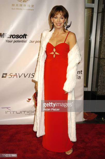 Lesley-Anne Down during The 32nd Annual International Emmy Awards at The New York Hilton Hotel in New York, New York, United States.