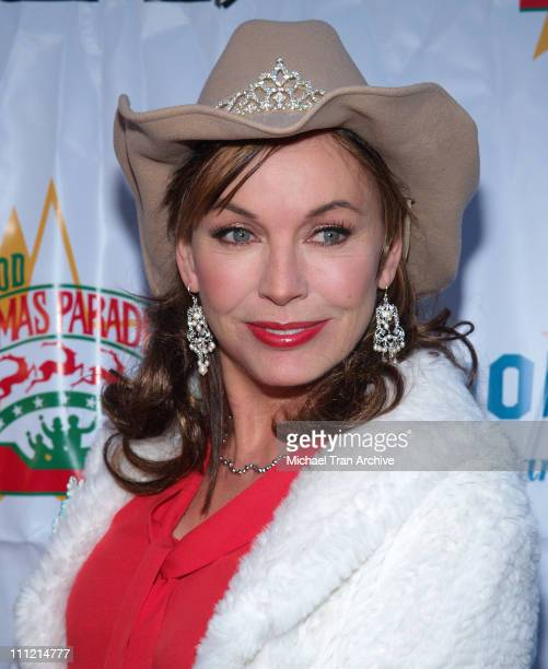 LesleyAnne Down during The 74th Annual Hollywood Christmas Parade Arrivals at Hollywood Roosevelt Hotel in Hollywood California United States