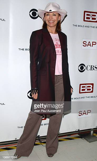 """Lesley-Anne Down during """"The Bold and The Beautiful"""" Celebrates Five Years of SAP Technology on the CBS Television Network at CBS Television City in..."""