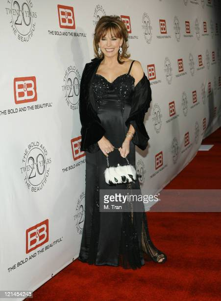 """Lesley-Anne Down during """"The Bold and the Beautiful"""" Gala to Celebrate 20 Years at Two Rodeo in Beverly Hills, California, United States."""
