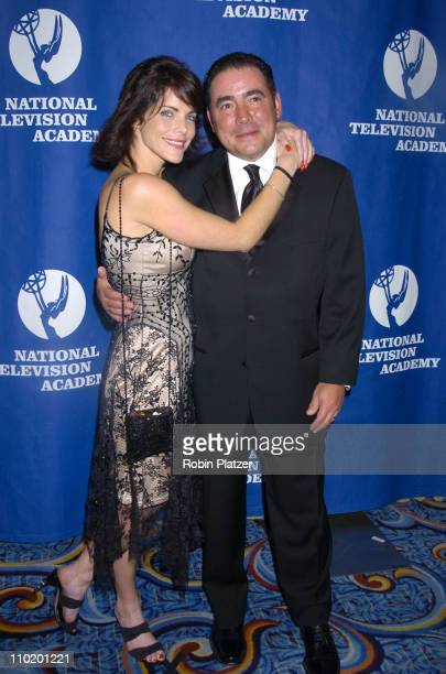 Lesli Kay and Emeril LaGasse during 31st Annual NATAS Daytime Emmy Craft Awards at The Marriott Marquis Hotel in New York New York United States