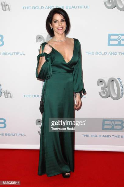 Lesli Kay attends the CBS's 'The Bold And The Beautiful' 30th Anniversary Party at Clifton's Cafeteria on March 18 2017 in Los Angeles California