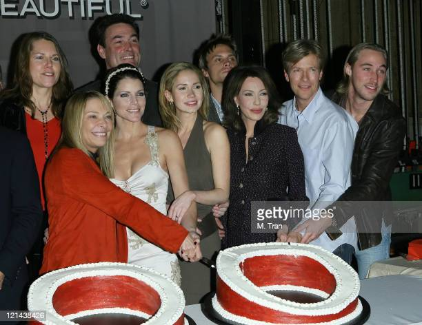 Lesli Kay Daniel McVicar Ashley Jones Hunter Tylo Dax Griffin and Jack Wagner