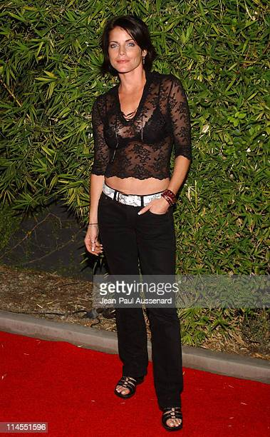 Lesli Kay during SOAPnet Fall 2004 Launch Party at Falcon in Hollywood California United States