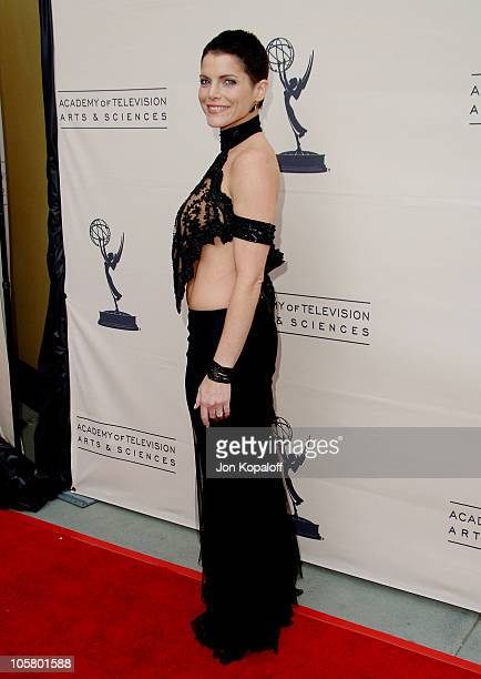 Lesli Kay during The 33rd Annual Daytime Creative Arts Emmy Awards in Los Angeles Arrivals at The Grand Ballroom at Hollywood and Highland in...