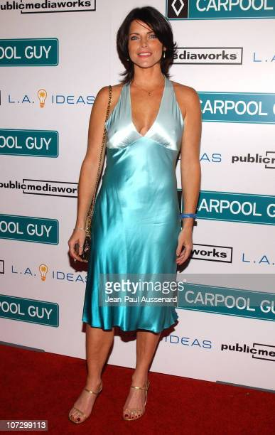 Lesli Kay during World Premiere of The Public Media Works Independent Feature Film 'Carpool Guy' Arrivals at The ArcLight in Hollywood California...
