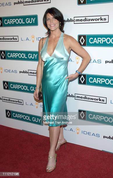 Lesli Kay during World Premiere of The Public Media Works Independent Feature Film 'Carpool Guy' Arrivals at Arclight Theaters in Hollywood...