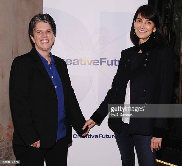 Lesli Klainberg and Ruth Vitale attend the Industry Mixer during the 52nd New York Film Festival at Empire Hotel on October 7, 2014 in New York City.
