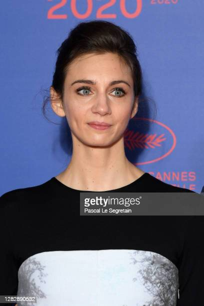 "Lesli Menu attends the Best Short Film Palme D'Or Award Ceremony of the ""Special Cannes 2020 : Le Festival Revient Sur La Croisette !"" as part of the..."