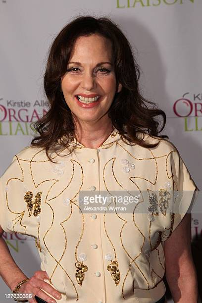 Leslie Ann Warren arrives at Kirstie Alley's Organic Liaison Store Grand Opening on March 9 2011 in Los Angeles California