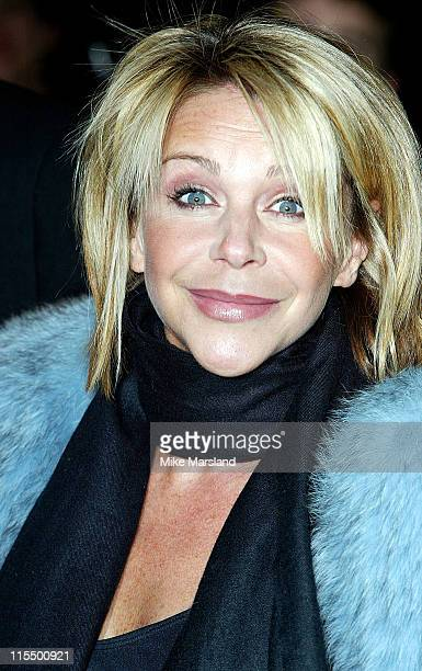Leslie Ash during 1st Anniversary Saatchi Gallery Arrivals at The Saatchi Gallery in London United Kingdom