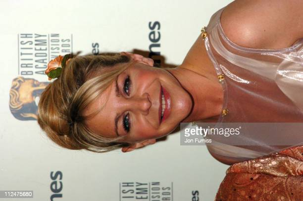 Leslie Ash during 50th Annual BAFTA Television Awards Press Room at Grosvenor House in London United Kingdom