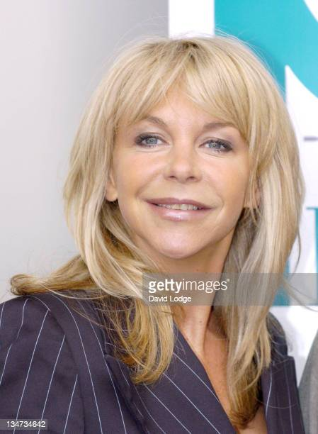 Leslie Ash during Clean Hospitals Summit Photocall at Hilton London Metropole Hotel in London United Kingdom