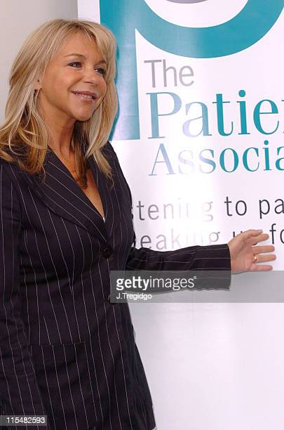 Leslie Ash during Cleaner Hospitals Summit April 14 2005 at Hilton London Metropole Hotel in London Great Britain