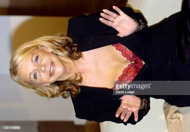 Leslie Ash during Leslie Ash Launches The New Playtex Campaign Just My Style at Music Rooms in London Great Britain