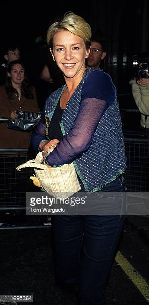 Leslie Ash during Lock Stock and Two Smoking Barrels After Party August 25 1998 at Berkley Playhouse Club in London Great Britain