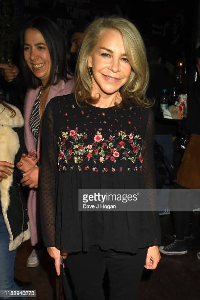 Leslie Ash during the Music Walk Of Fame Founding Stone Unveiling on November 19 2019 in London England