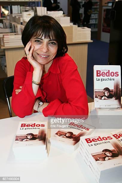 Leslie Bedos at the 25th Salon du Livre held in Paris