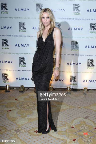 Leslie Bibb attend THE ALMAY CONCERT to Celebrate the RAINFOREST FUND'S 21st Birthday at The Plaza Hotel on May 13th 2010 in New York City