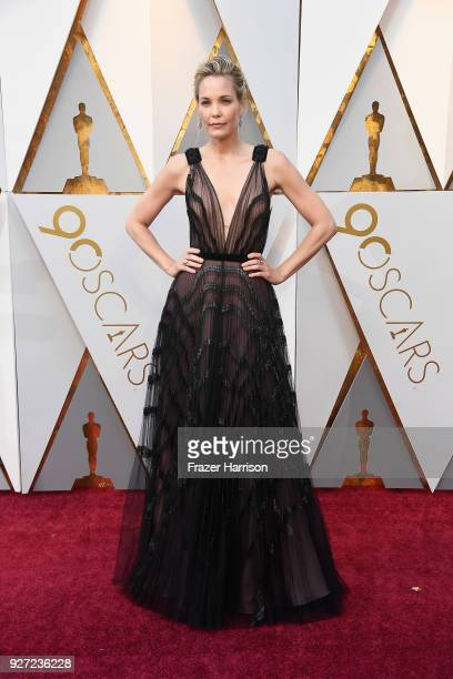 Leslie Bibb attends the 90th Annual Academy Awards at Hollywood Highland Center on March 4 2018 in Hollywood California