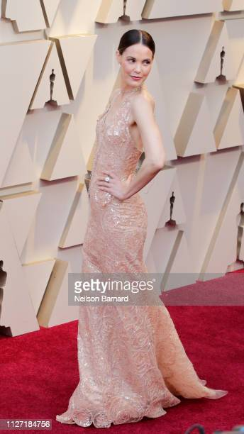 Leslie Bibb attends the 91st Annual Academy Awards at Hollywood and Highland on February 24 2019 in Hollywood California