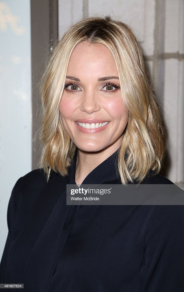 Leslie Bibb attends the Broadway Opening Night performance of 'Fool For Love' at the Samuel J. Friedman Theatre on October 8, 2015 in New York City.