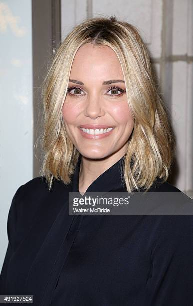 Leslie Bibb attends the Broadway Opening Night performance of 'Fool For Love' at the Samuel J Friedman Theatre on October 8 2015 in New York City