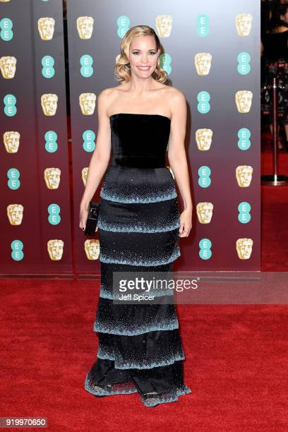 Leslie Bibb attends the EE British Academy Film Awards held at Royal Albert Hall on February 18 2018 in London England