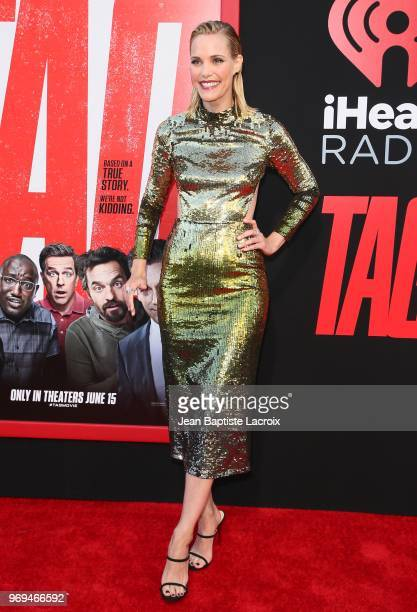 Leslie Bibb attends the premiere of Warner Bros Pictures and New Line Cinema's 'Tag' on June 07 2018 in Los Angeles California