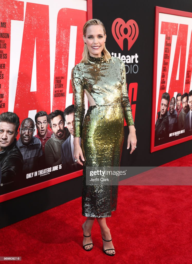 Leslie Bibb attends the premiere of Warner Bros. Pictures And New Line Cinema's 'Tag' at Regency Village Theatre on June 7, 2018 in Westwood, California.