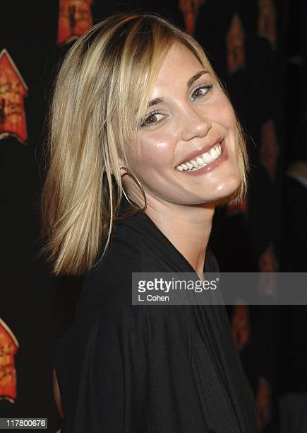 Leslie Bibb during Molly Sims Hosts the 3rd Annual Night with the Friends of El Faro Benefit at Henry Fonda Theatre in Los Angeles California United...