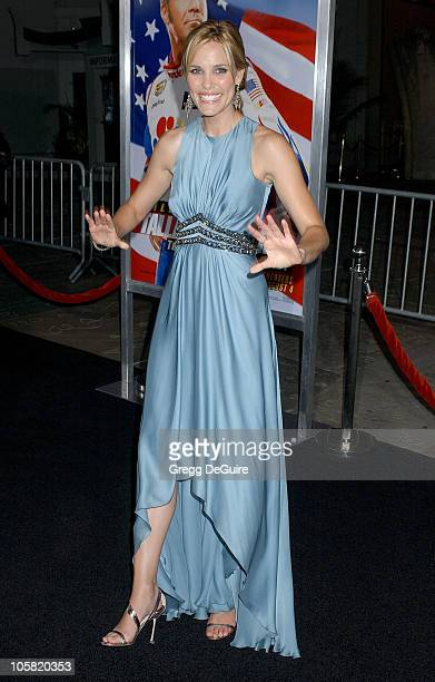 Leslie Bibb during 'Talladega Nights The Ballad of Ricky Bobby' Los Angeles Premiere Arrivals at Grauman's Chinese Theatre in Hollywood California...