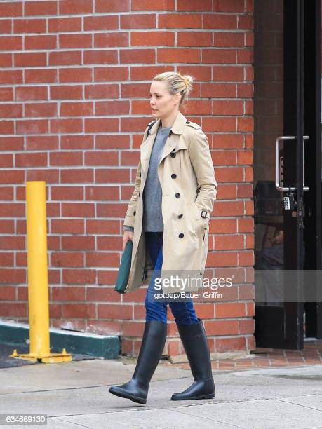 Leslie Bibb is seen on February 10 2017 in Los Angeles California