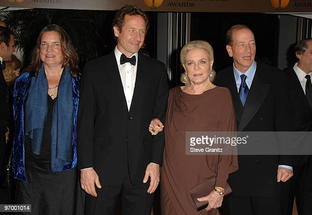 Leslie Bogart Sam Robards Actress Lauren Bacall and Stephen Humphrey Bogart arrive at the Academy Of Motion Pictures And Sciences' 2009 Governors...