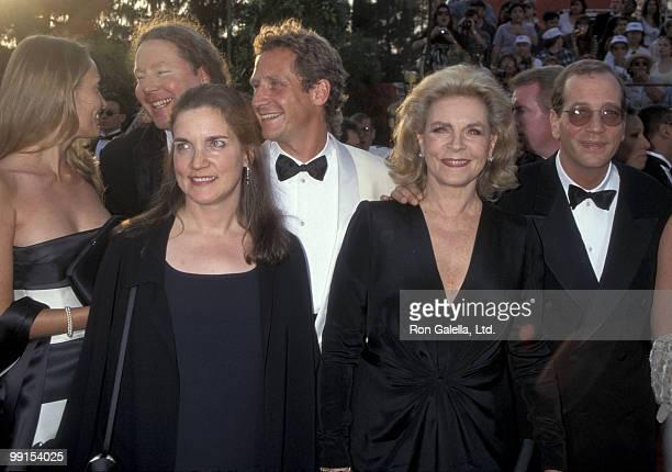 Leslie Bogart Sam Robards Lauren Bacall and Stephen Bogart