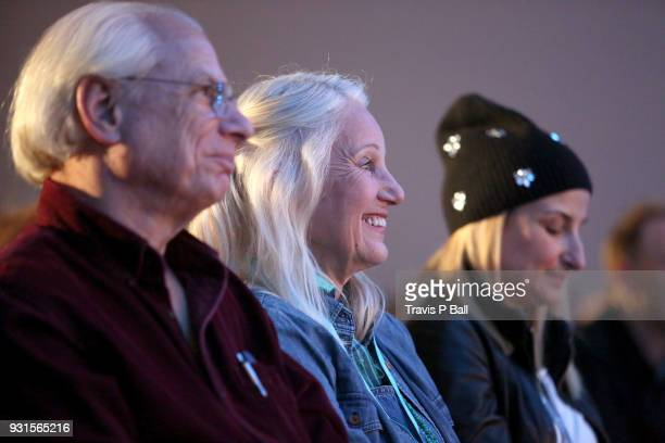 Leslie Carole attends A Conversation with Ethan Hawke during SXSW at Austin Convention Center on March 13 2018 in Austin Texas
