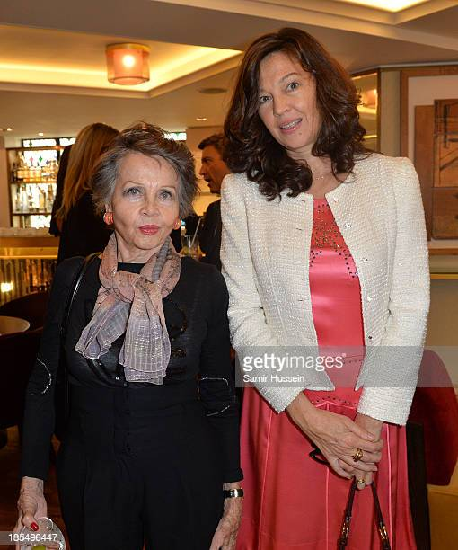 Leslie Caron and Jennifer Hall attend NYT tribute to legendary director and president of the National Youth Theatre from 1983 to 2005, Bryan Forbes...