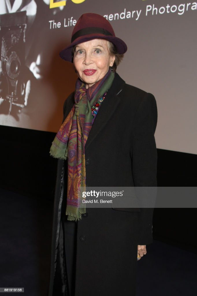 Leslie Caron attends the LOVE, CECIL special preview screening with director Lisa Immordino Vreeland at Soho Hotel on November 29, 2017 in London, England.