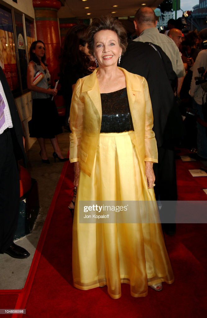 Leslie Caron during 'Le Divorce' Los Angeles Premiere at The Mann Festival Theatre in Westwood, California, United States.