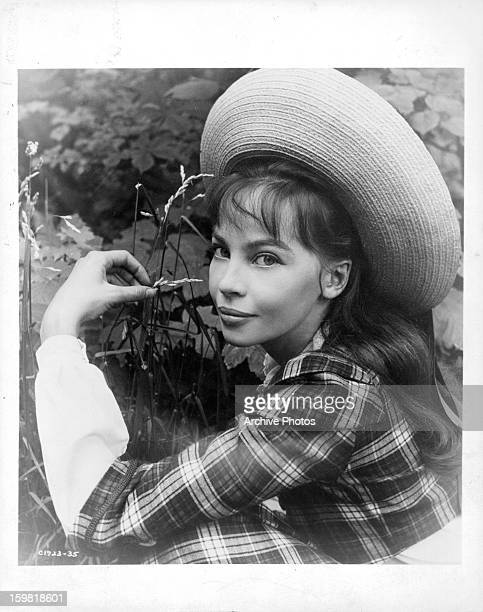 Leslie Caron in publicity portrait for the film 'Gigi' 1958