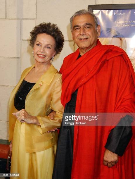 """Leslie Caron & Ismail Merchant during """"Le Divorce"""" Premiere - Los Angeles at Mann's Festival Theatre in Westwood, California, United States."""
