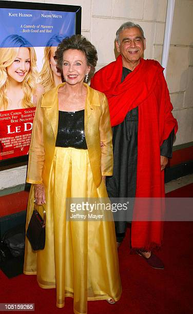 Leslie Caron Ismail Merchant during 'Le Divorce' Premiere Los Angeles at Mann's Festival Theatre in Westwood California United States
