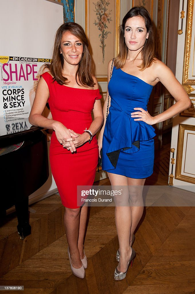 leslie coutterand and elsa fayer attend the 39 shape france 39 magazine news photo getty images. Black Bedroom Furniture Sets. Home Design Ideas