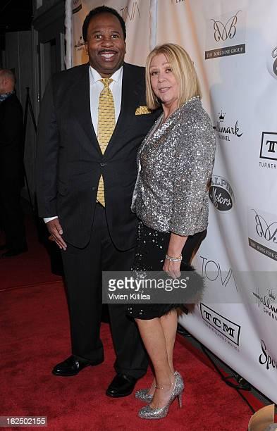 Leslie David Baker and Nancee Borgnine attend The Borgnine Movie Star Gala at Sportsmen's Lodge Event Center on February 23 2013 in Studio City...