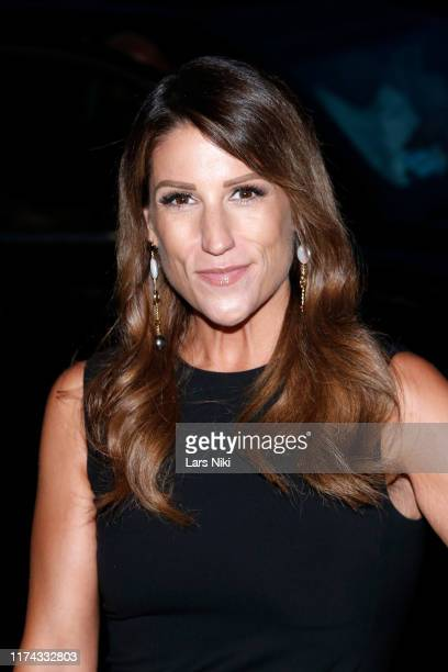 Leslie DiNicola attends Tiffany Panhilason's NYFW Fundraising Event For Mentari on September 12 2019 in New York City