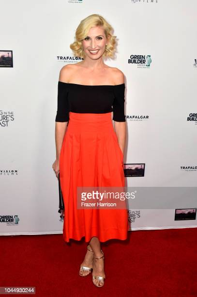 Leslie Durso attends Vision Films' 'Living In The Future's Past' at Ahrya Fine Arts Theater on October 2 2018 in Beverly Hills California