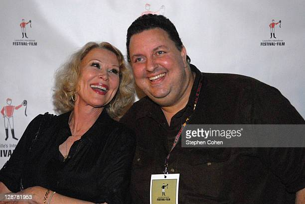 Leslie Easterbrook and Matt Berman attend a screening of Hollywood Wine at the Bomhard Theater on October 7 2011 in Louisville Kentucky